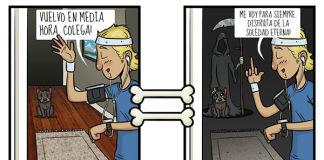 Estas divertidas imágenes reflejan con humor cómo ven el mundo los perros
