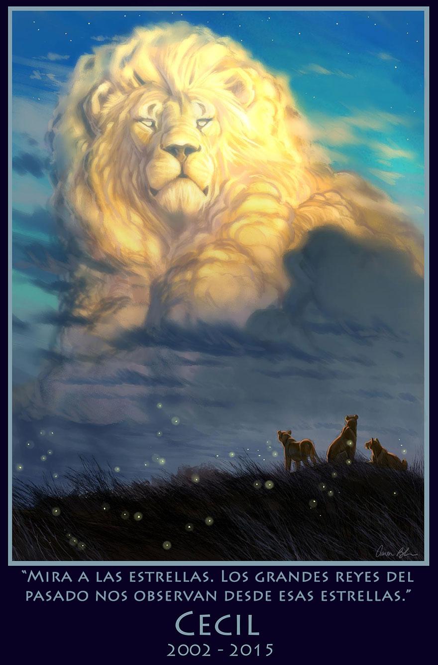 animador-del-rey-leon-hace-homenaje-a-cecil