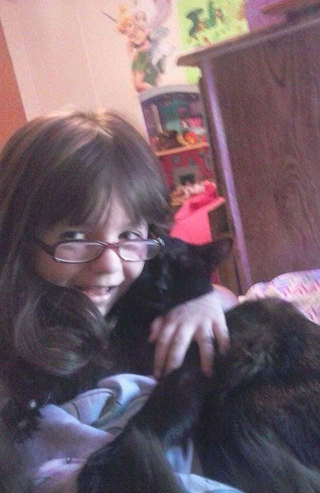 Gato y su mejor amiga