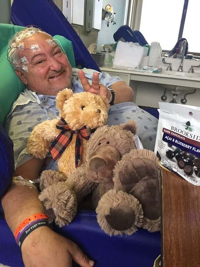 Glenn en el hospital