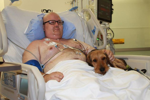 Las mascotas visitan a sus humanos en este hospital