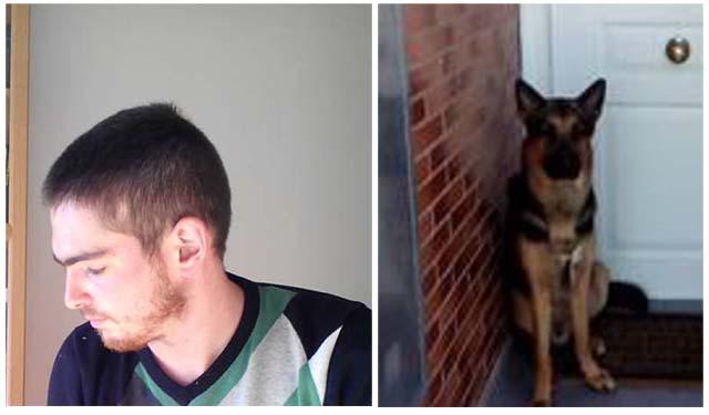 Su perro le salvó la vida