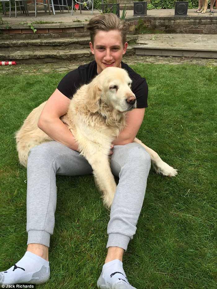 Jack y su perro