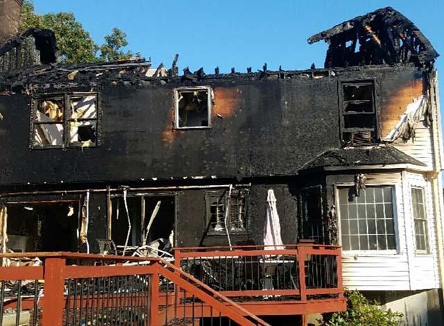 Incendio en una casa de Connecticut