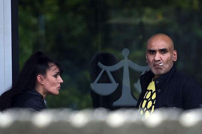 Zarak Khan y Andrea Myeah