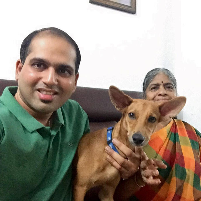 Bhadra y su familia