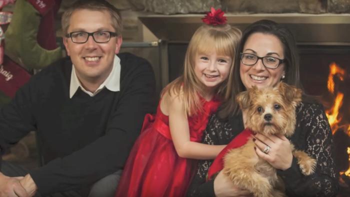 Izzy y su familia