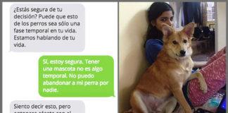 Mujer rechaza matrimonio porque le pedían renunciar a su perro