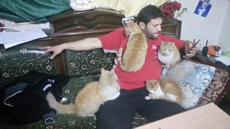 El hombre gato de Alepo