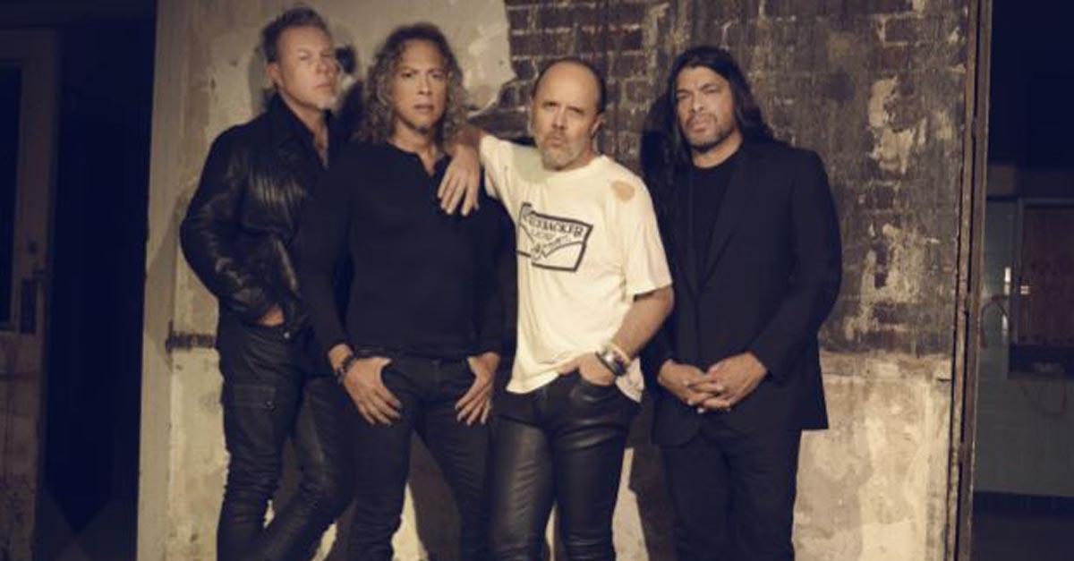 Metallica recolectó nueve toneladas de alimento para animales y niños
