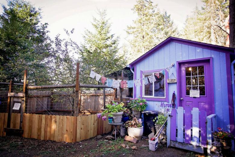 Refugio con cabañas