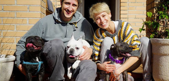 Julia y su familia