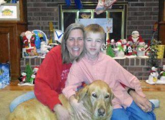 Niño salvó a su madre y a su perra de morir congeladas en un lago helado