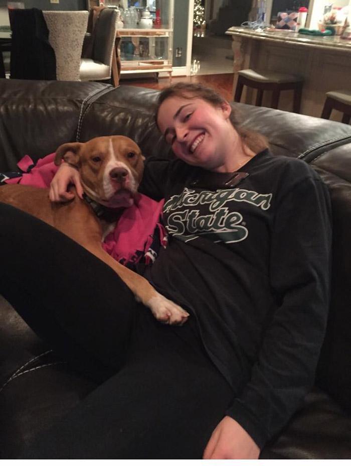 Ollie-Loo es un gran perro