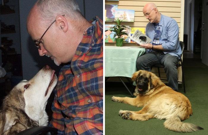 Hombre adopta a 45 perros