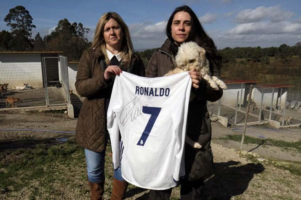 Camiseta firmada de Cristiano Ronaldo