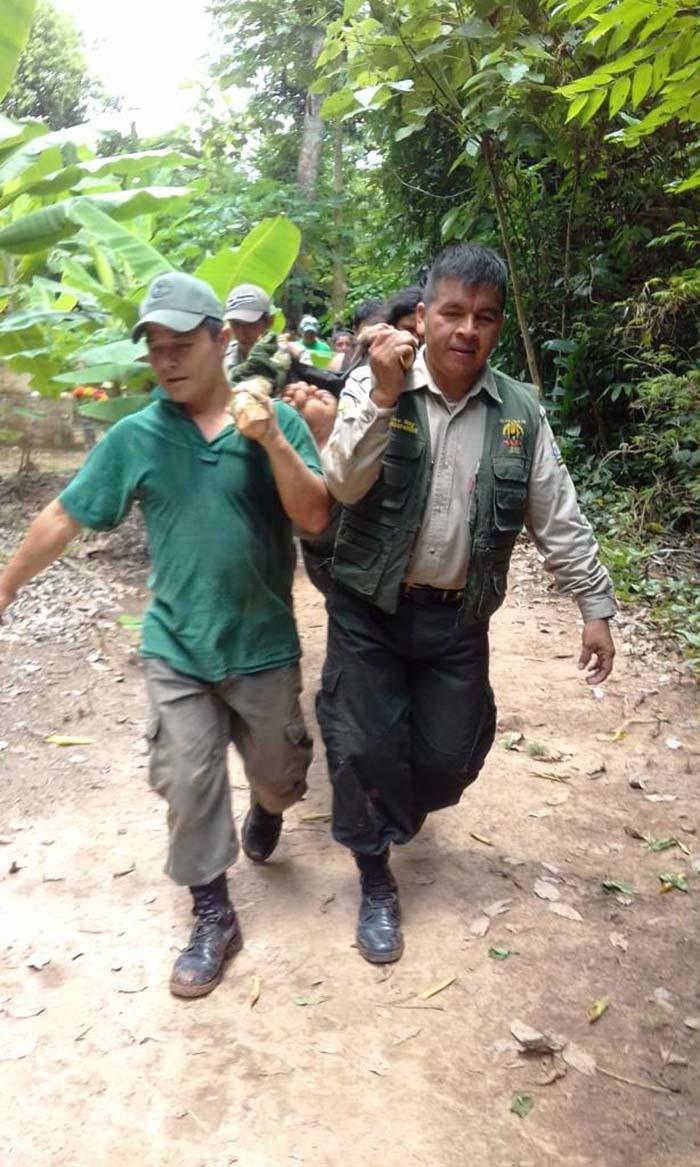 Turista chileno perdido en el Amazonas