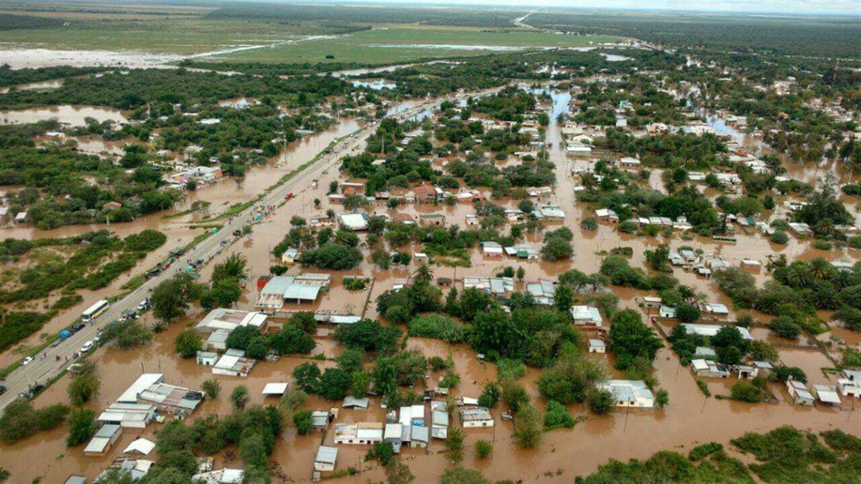 La Madrid inundación
