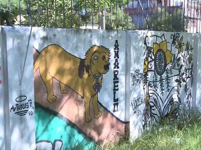 Mural de Amarelo