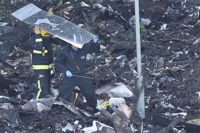 Incendio de edificio en Londres