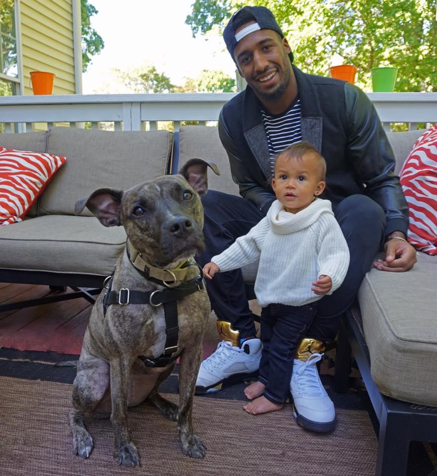 Logan y su perro