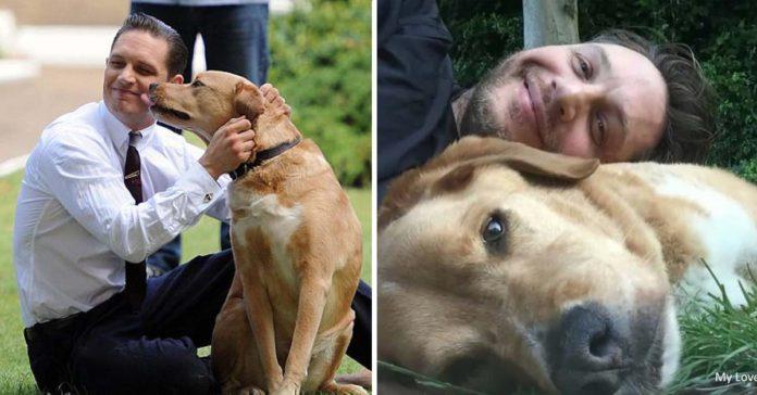 Tom Hardy compartió un emotivo mensaje para su difunto perro Woody
