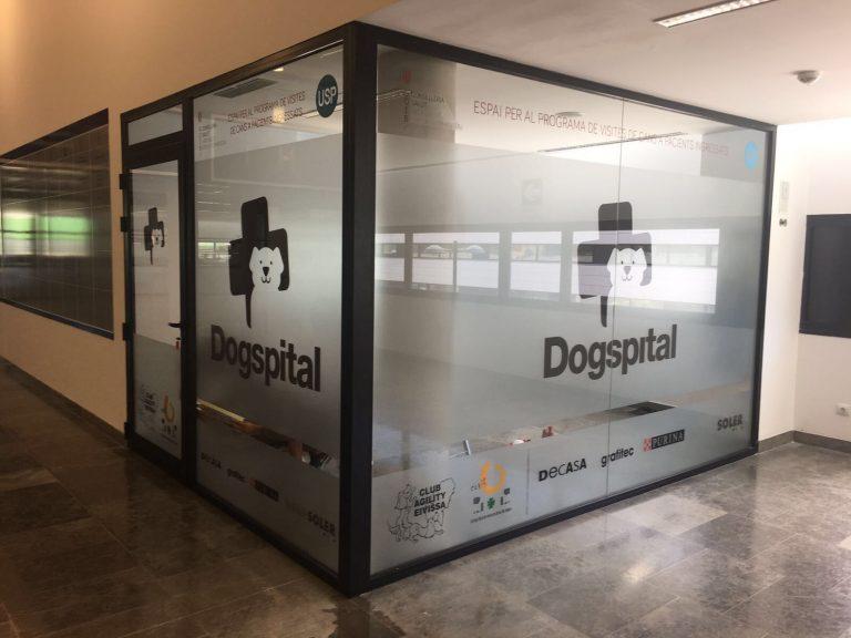 Hospital permite visitas de los perros