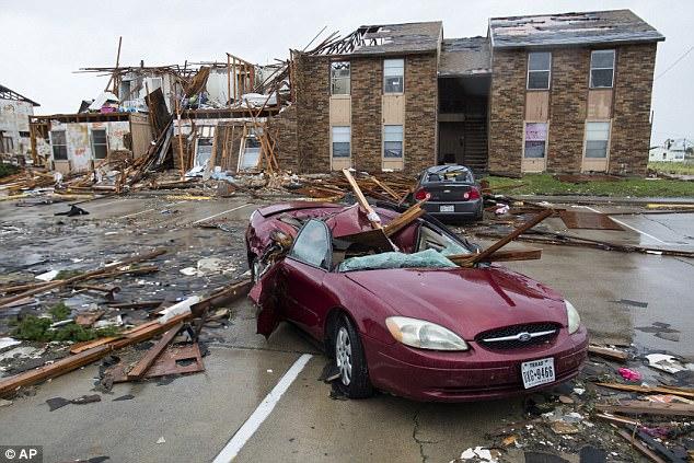 Desastre huracán Harvey