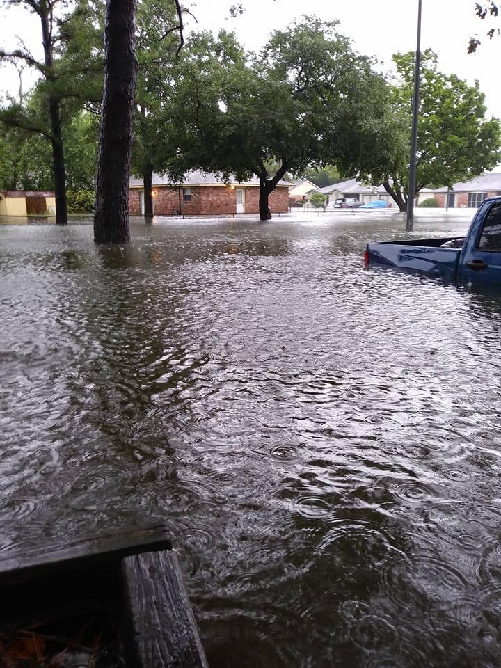 Inundación huracán