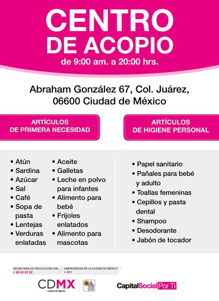Centro de acopio
