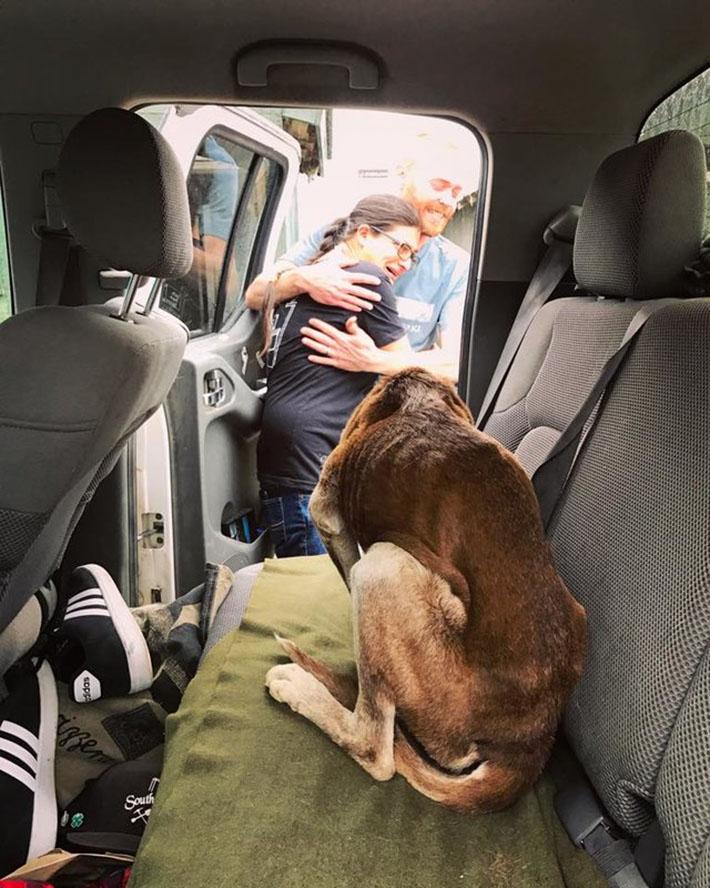 Chloe rescatada