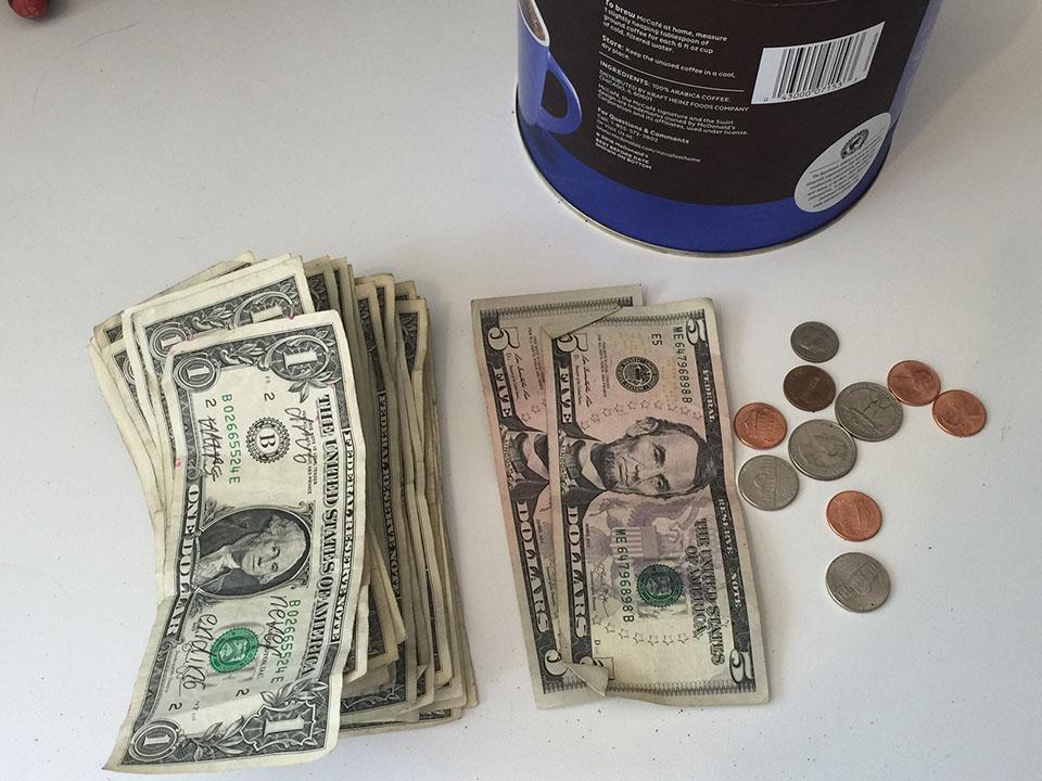 Dinero recaudado