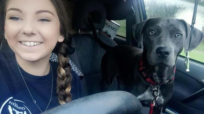 Jessica y Luna viajando