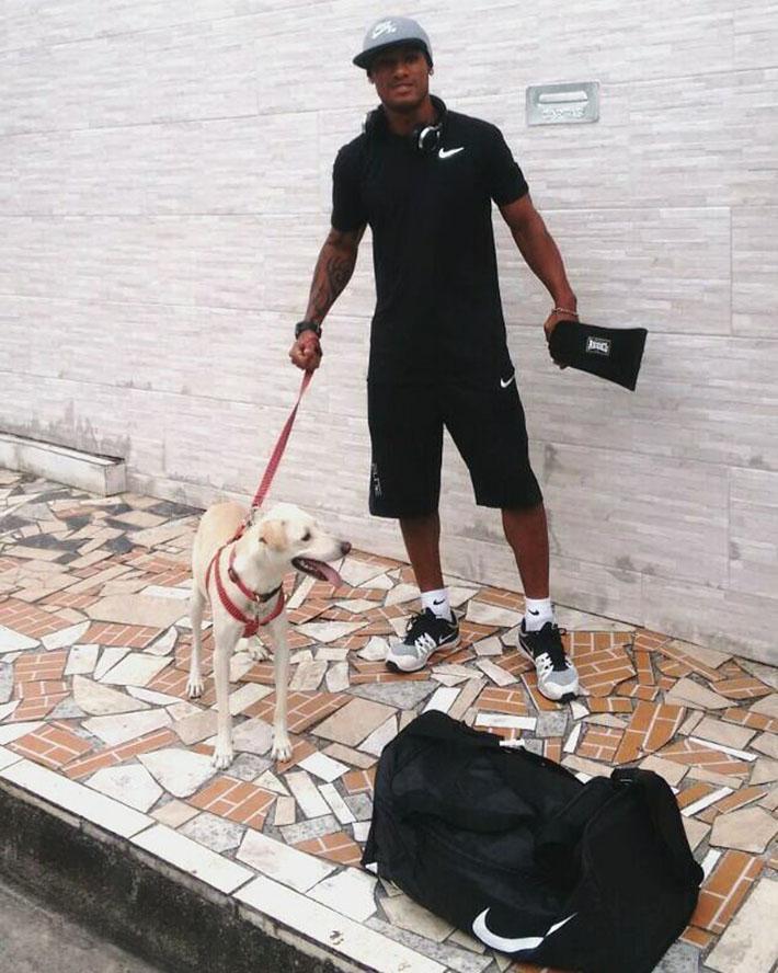 Heinze y su perro
