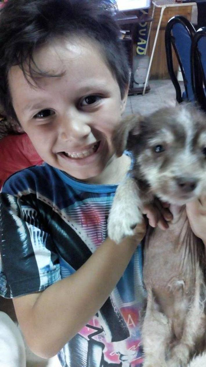 Nico y el perrito