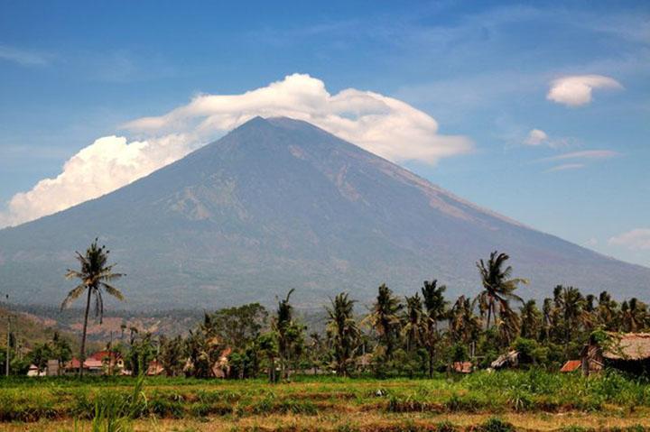 Volcán Mount Agung