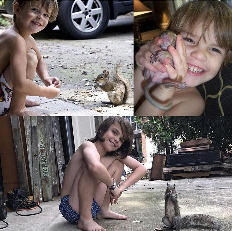 Bella y niño