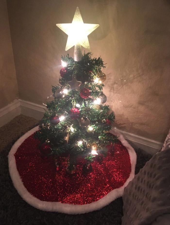 Mini árbol de Navidad