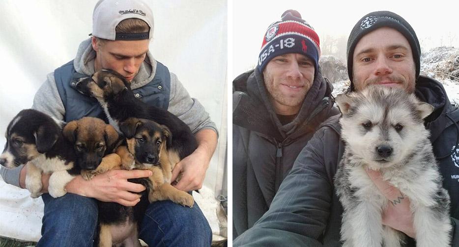 Esquiador olímpico cierra una granja de perros en Corea del Sur