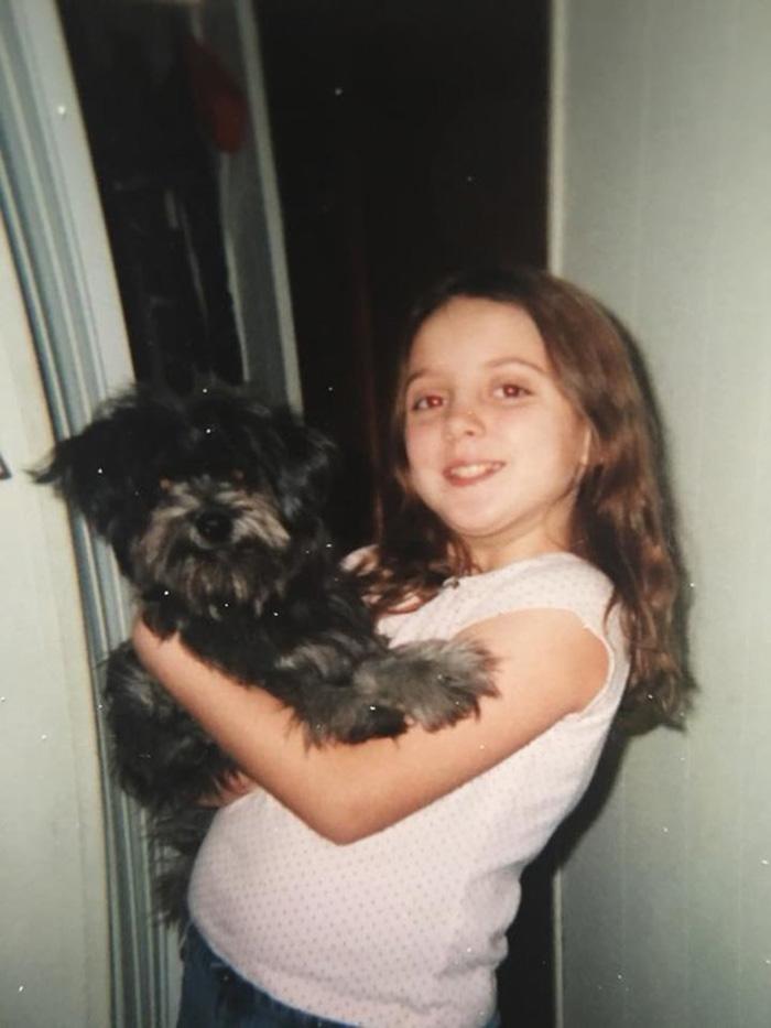 Nicole y Chloe antes