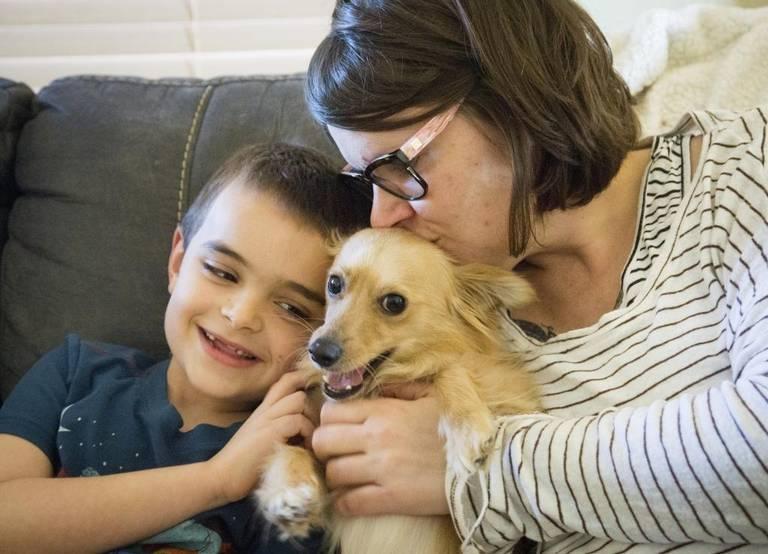 Hospicio ayuda a familias y sus animales