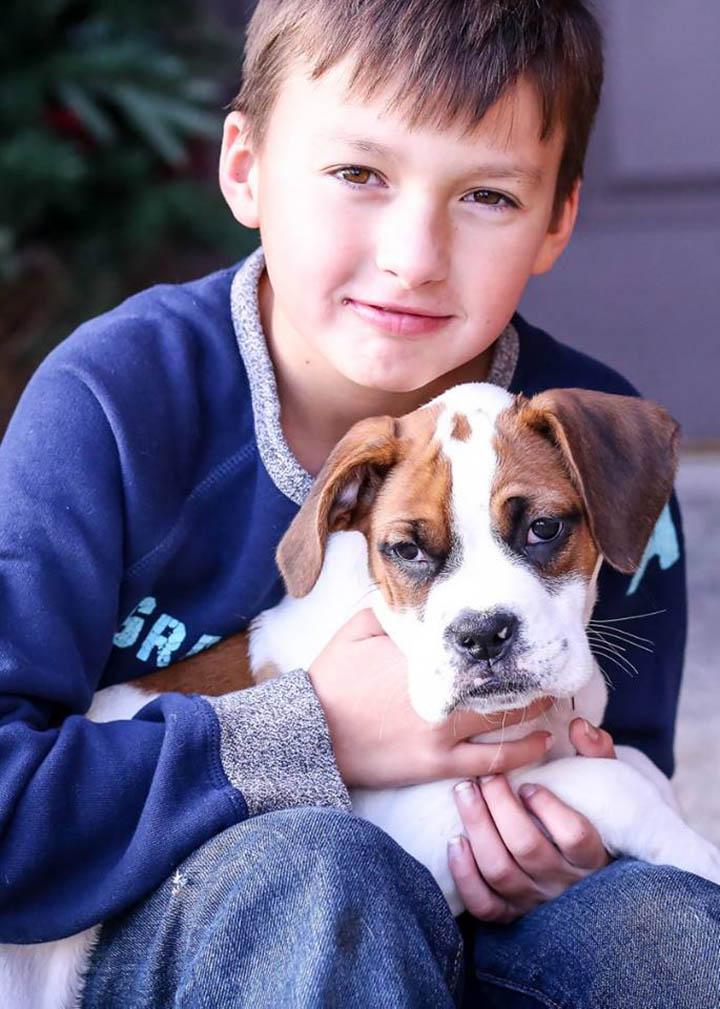 Lexi y su hermano
