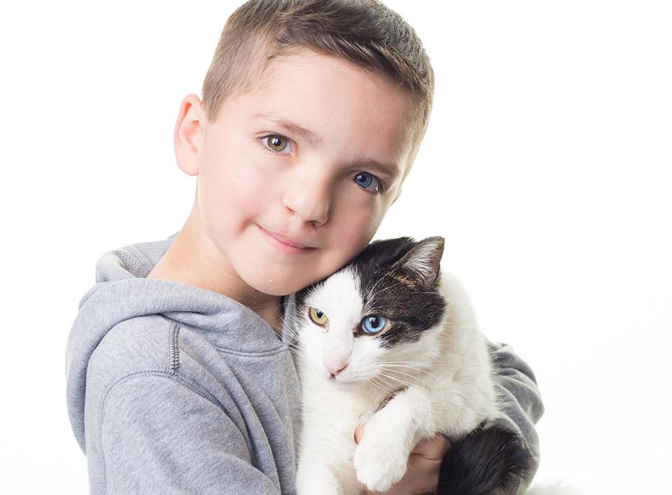 Madden y su gato