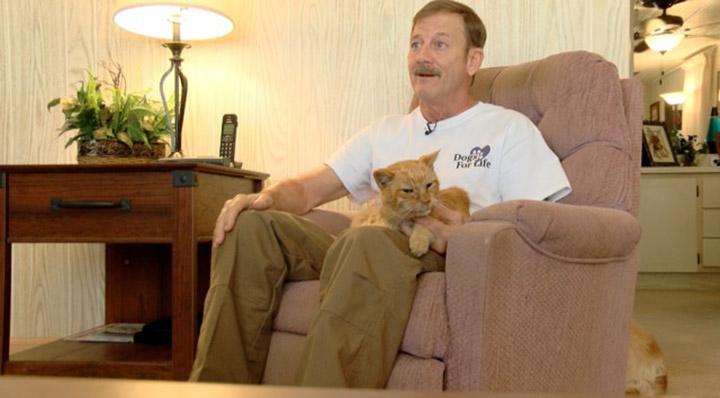 Martin y su gato