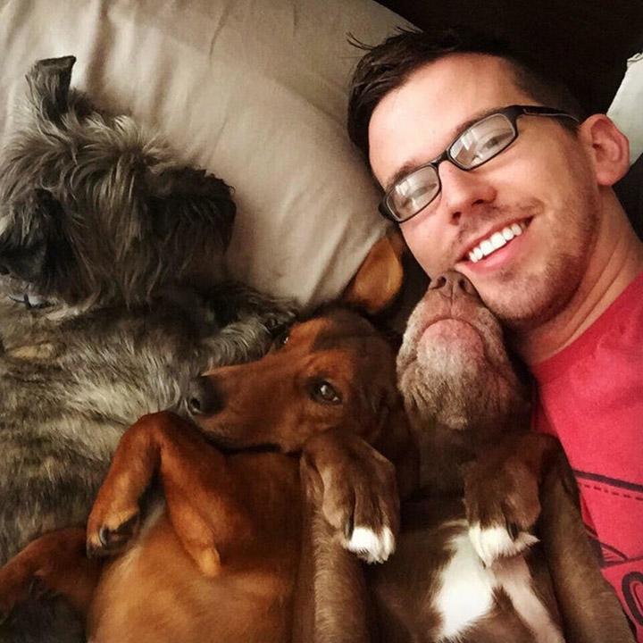 Levi y su familia