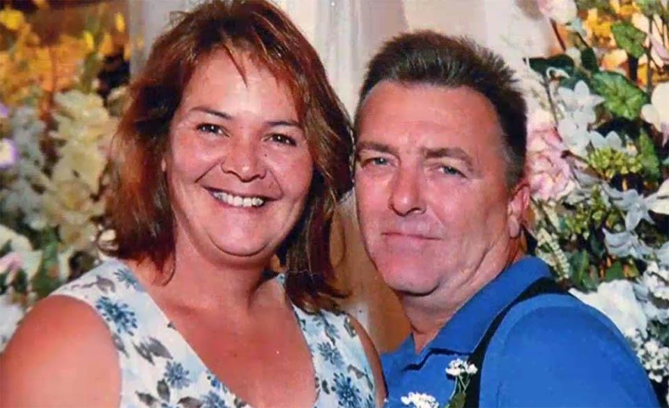 Julia y su esposo