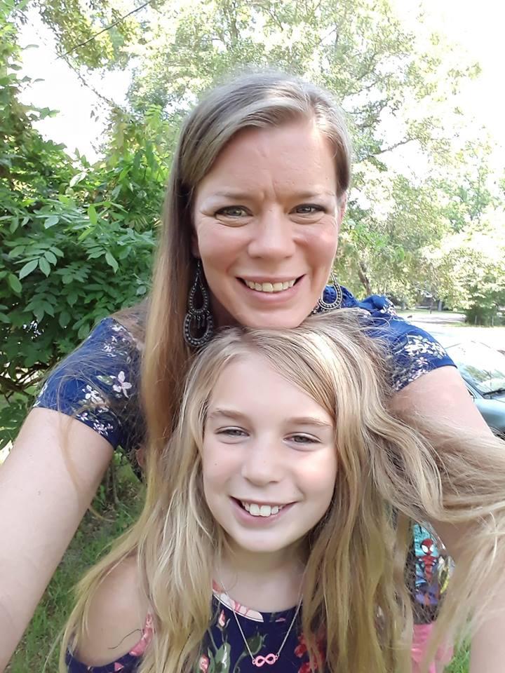 Greenlee y su mamá