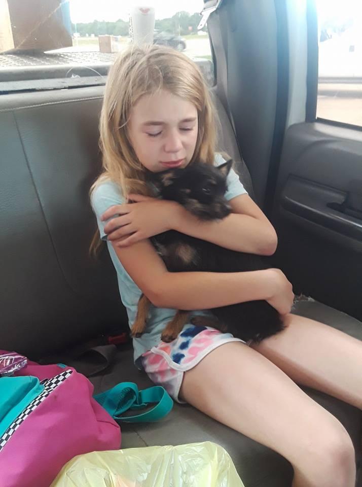 Greenlee y su perro
