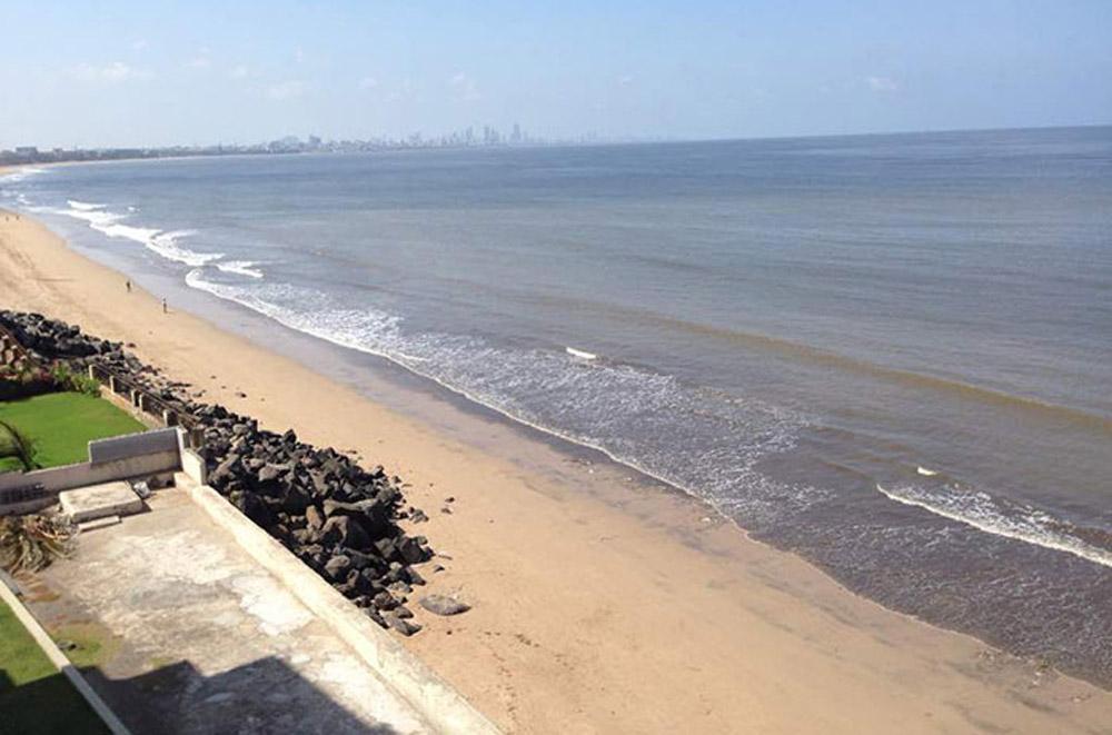 Playa limpia