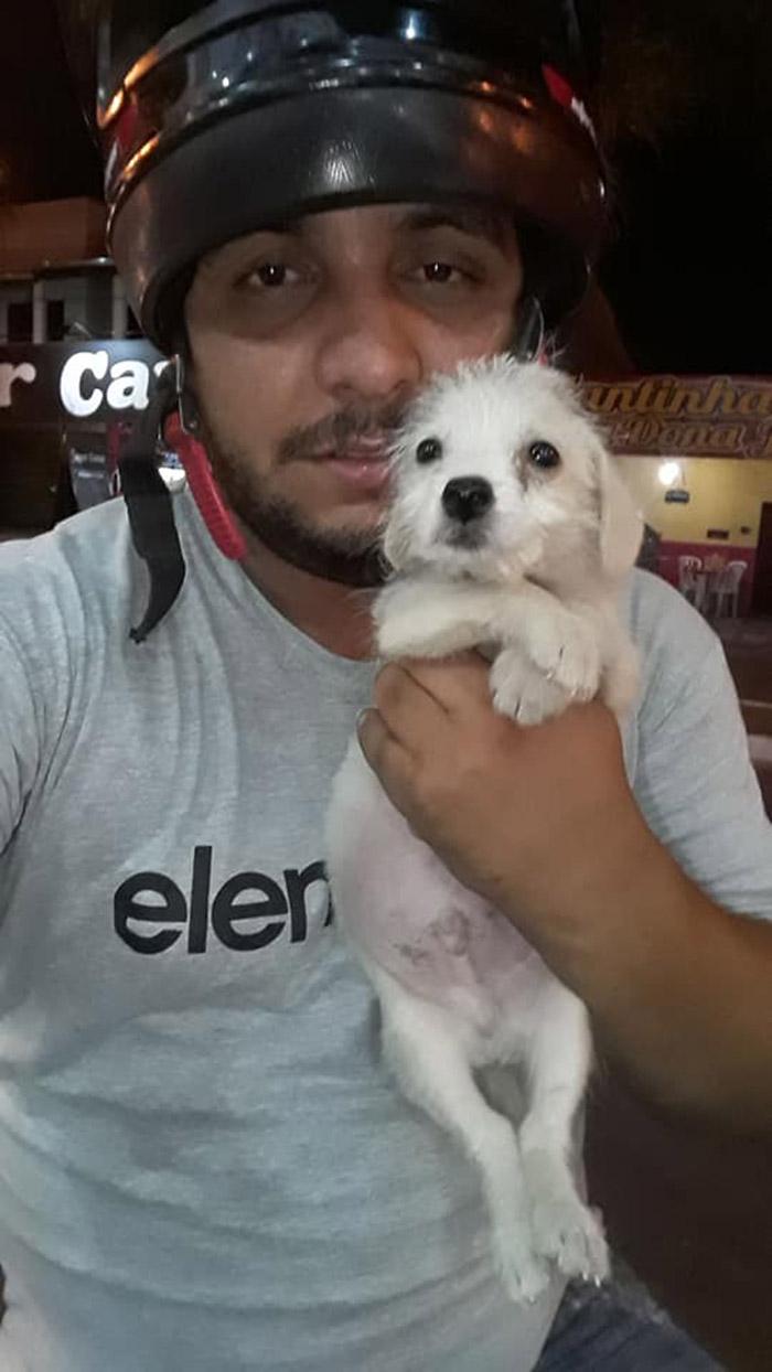 Josiel y el perrito